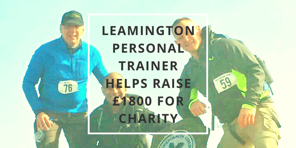Leamington Personal Trainer Helps Raise Money For Myton Hospice
